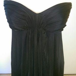 ANGL Dresses & Skirts - Silky strapless black dress