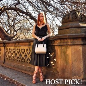 ❤️HOST PICK!❤️ Zara Leather Pleated Skirt