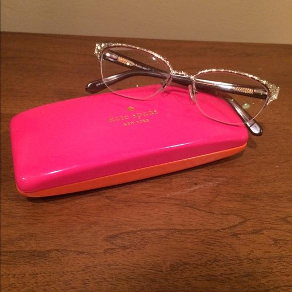Kate Spade Accessories Gold Glitter Frames Poshmark