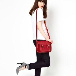 Cambridge Satchel Handbags - Classic Red Cambridge Satchel
