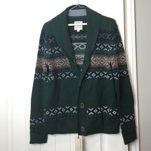 Life After Denim Sweaters - Life After Denim Green Printed Sweater