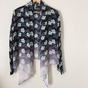 HPRebecca Minkoff silk cardigan