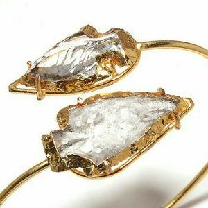 Jewelry - NEW // Siren Wrap Crystal Bracelet