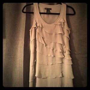 INC Ruffle Dress