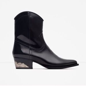Zara Shoes - 🚫SOLD 🚫NWT Zara Leather Boots