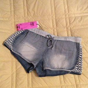 Pants - Cute Soft Denim Shorts 🌾