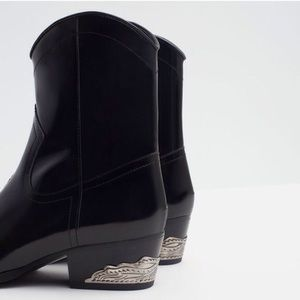 Zara Shoes - 🚫SOLD🚫 NWT Zara Leather Boots