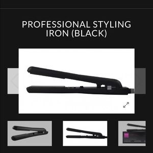 74 off style house accessories price drop nwt for Style house professional styling iron price