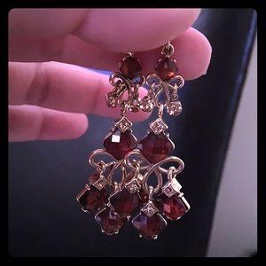 Jewelry - Chandelier topaz earrings