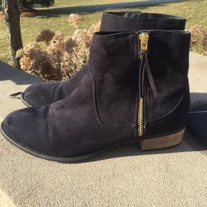 Diba Faux Suede Ankle Boots