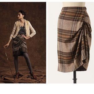 Anthropologie Made to Measure Skirt