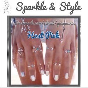 Jewelry - ✨Beautiful bohemian ring set✨