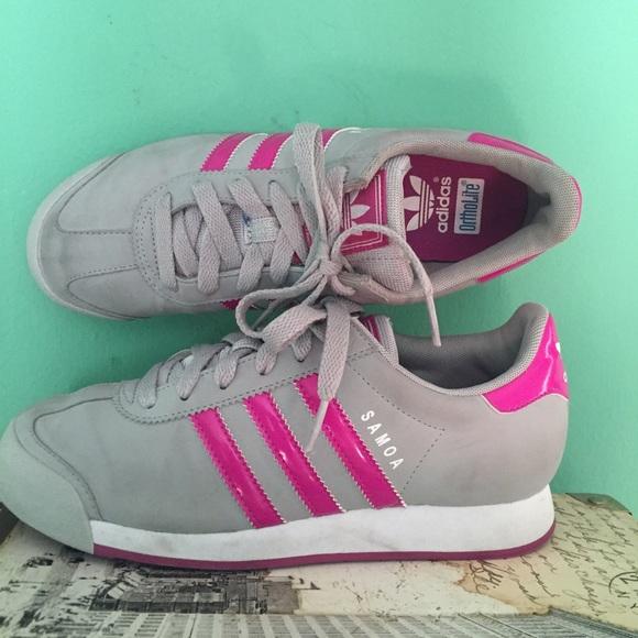 0a75b7addbef52 Adidas Shoes - Adidas Samoa Retro Sneakers sz 5
