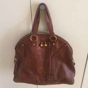 59% off yves saint Laurent Handbags - Ysl muse tri-color bag ...