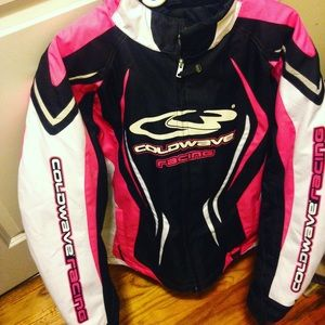 Cold wave snowmobile jacket