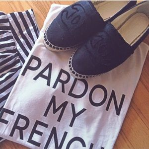 Tops - Pardon My French T-Shirt