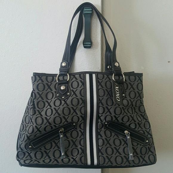 Xoxo black gray purse. Brand New with Tag. 303894647dd4c