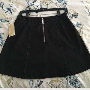 💛Michael Kors Black Skater Skirt 💛New