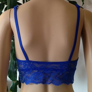 311def0990892 ... size M. PINK Victoria s Secret Intimates   Sleepwear - Royal Blue Lace  Bralette by Pink ...