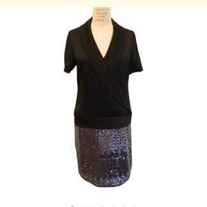 Behnaz Sarafpour Dresses & Skirts - Silk and sequins cocktail dress