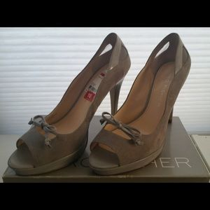 Marc Fisher Shoes - Marc Fisher Beige Suede Pumps Brand New Size 10M
