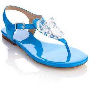 "June Ambrose ""Diana"" Flat Sandal"