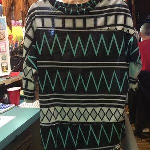 A three quarter length blouse !