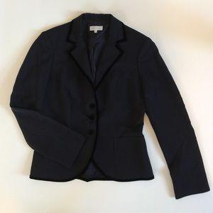 Armand Ventillo Jackets & Blazers - LIKE NEW Armand Ventilo navy blazer velvet trim 8