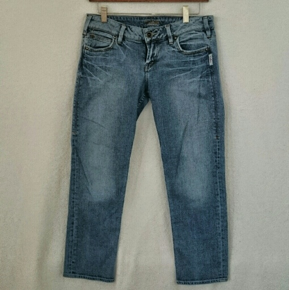 Silver Jeans - Silver Cropped Jeans Sz 28 from Rosie's closet on ...
