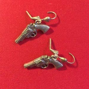 Jewelry - Pistol Earrings