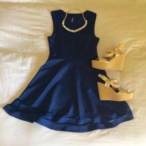 0e9bdb4517d Lulu s Dresses - Lulu s Final Stretch Navy Blue Dress
