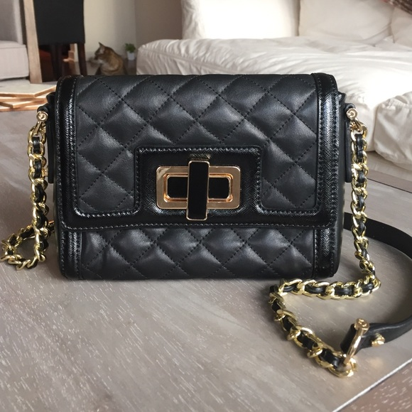 93b87456454c C. wonder Handbags - Leather Chanel Style Quilted Bag