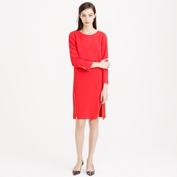 J. Crew Dresses & Skirts - J Crew Double Zip Shift Dress