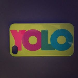 Accessories - iPhone 4/4s YOLO case