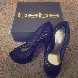 BRAND NEW Bebe shoes never worn!!!