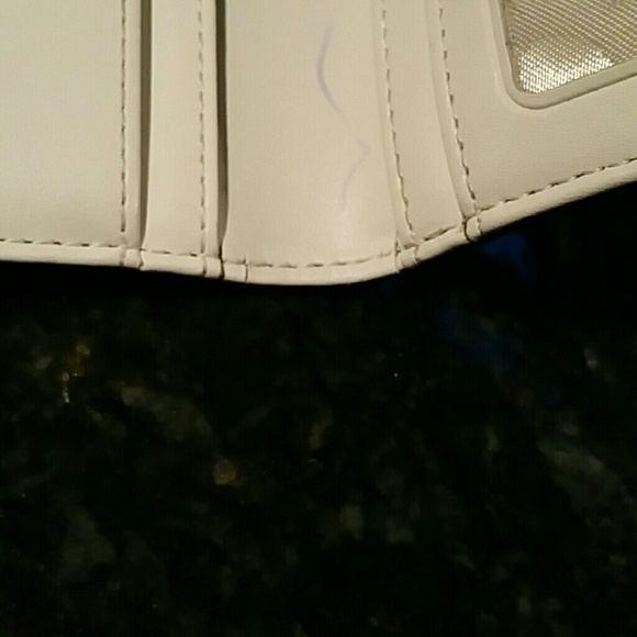 kate spade Bags - Kate Spade blue glitter wallet just reduced