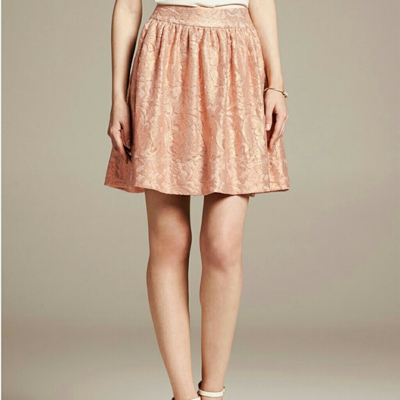 43% off Banana Republic Dresses & Skirts - Sparkly a-line skirt ...