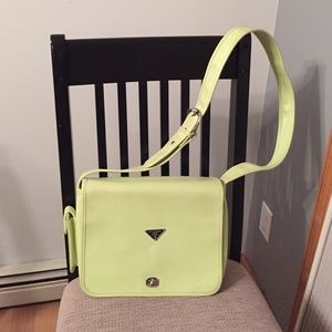 Designer inspired shoulder handbag