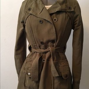 Anthropologie Cotton Military Jacket - Tulle