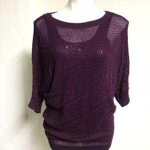 Express top and sequins tank size small. NWT