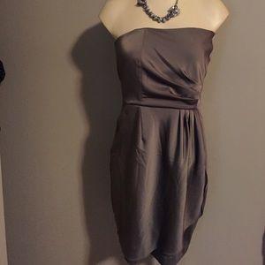 Semi formal strapless dress