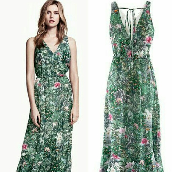 H&M - H&M Conscious Rainforest Themed Dress from Ita-mae's closet ...