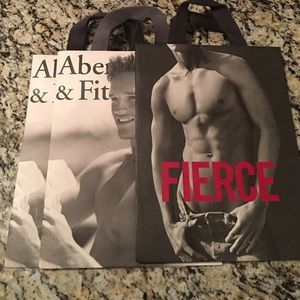 Abercrombie & Fitch Handbags - Set of 3 shopping bags
