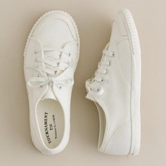 factory price 699c0 dc669 J.Crew Women s Tretorn Canvas T56 Sneakers 9