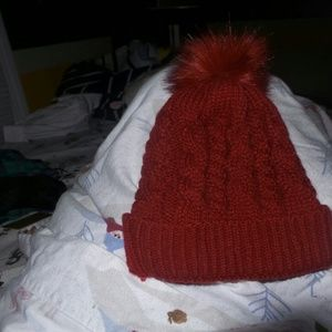 Faux Fur Poof Ball Hat