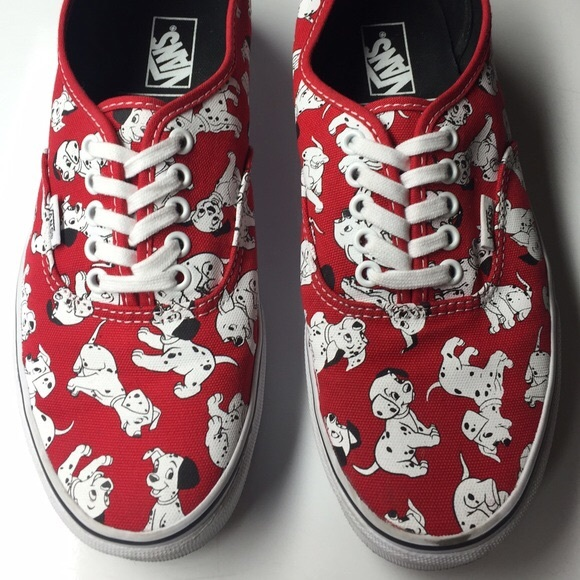 Vans Disney authentic shoes 101 Dalmatians 6W