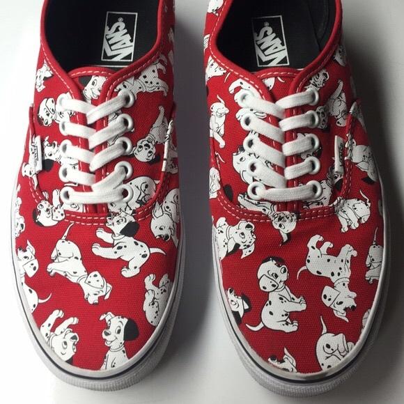51fcab042d97 Vans Disney authentic shoes 101 Dalmatians 6W