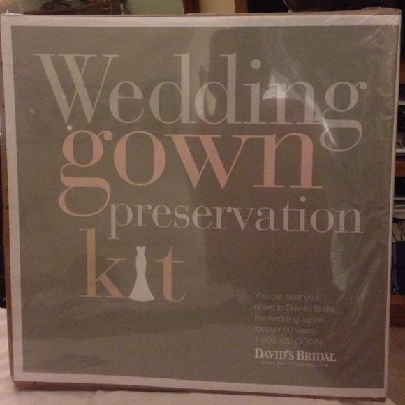 David\'s Bridal Dresses | Wedding Dress Preservation Kit | Poshmark