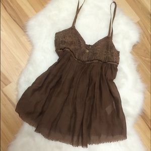 Tops - Sweetheart Lace Tank Top