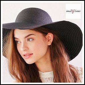Boutique Accessories - Floppy Wide Brim Oversized Fedora Panama Hat